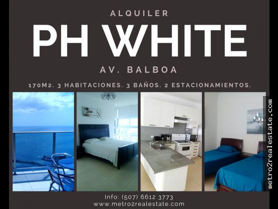 PH WHITE. AV. BALBOA. Alquiler
