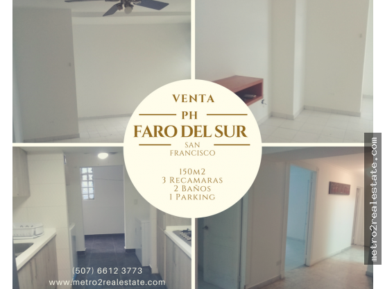 VENTA EN PH FARO DEL SUR. San Francisco