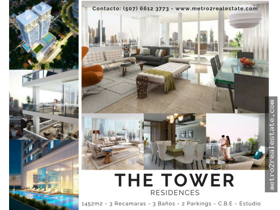 PH THE TOWER  RESIDENCES. Calle 50