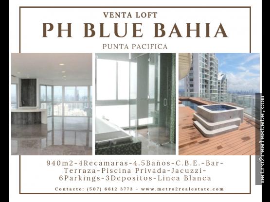 LOFT PH BLUE BAHIA. Punta Pacifica-Venta