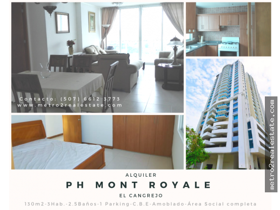 PH MONT ROYALE. Alquiler