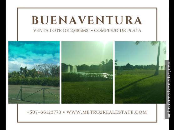 LOTE/TERRENO EN BUENAVENTURA. Cocle (Venta)