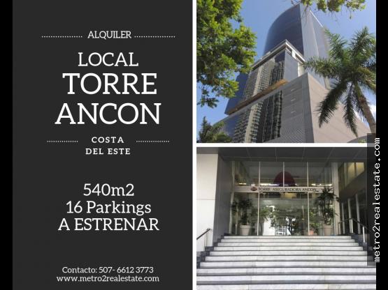 LOCAL EN TORRE ANCON. Costa del Este (Alquiler)