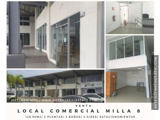 LOCAL COMERCIAL MILLA 8. Venta