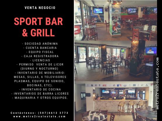 SPORT BAR & GRILL. Venta-Marbella