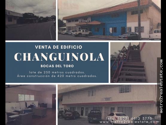 VENTA DE EDIFICIOS EN CHANGUINOLA. Bocas del Toro