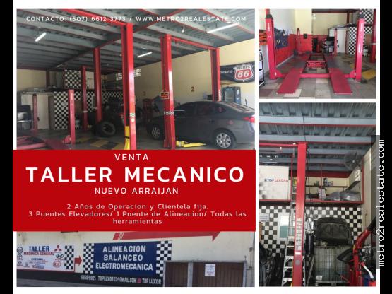 VENTA TALLER MECANICA GENERAL. Nuevo Arraiján