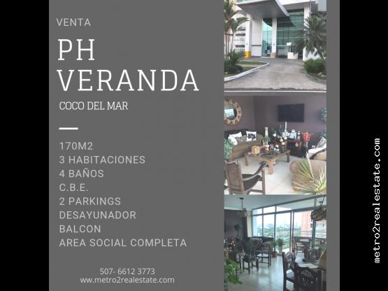 PH  VERANDA. Coco del Mar. (Venta)