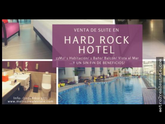SUITE EN HARD ROCK HOTEL. Paitilla