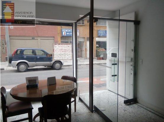 SE ARRIENDA LOCAL EN CHAPINERO 85 M2