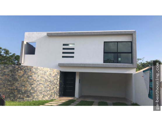 Residencia a 5 min. de Altabrisa, Mérida Yuc.