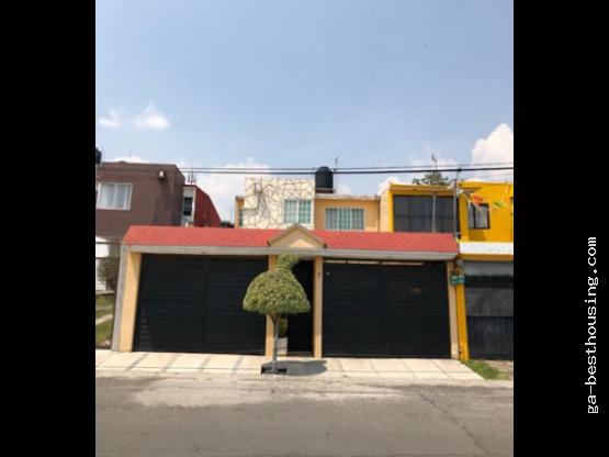 Hermosa Casa en Col. Atlanta, Cuautitlán Izcalli.