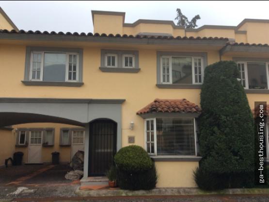 Casa en Condominio Loma Bonita, Cuajimalpa CDMX.