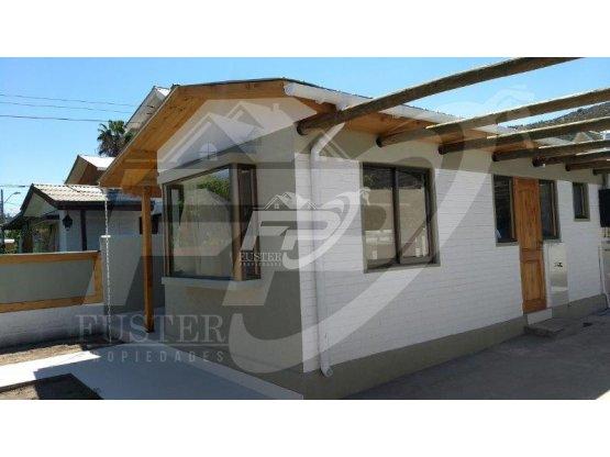 Casa recién remodelada y ampliada 3D 2B Los Andes