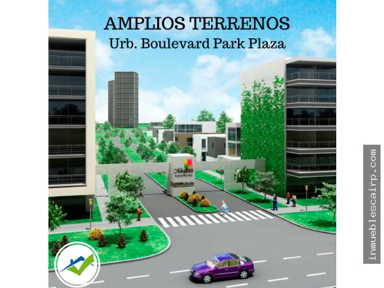 Terrenos en Boulevard Park Plaza - Piura