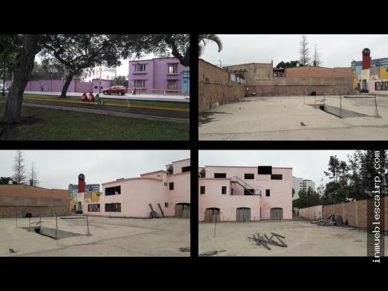 Terreno de 4,022 m² en Venta (Av Salaverry)