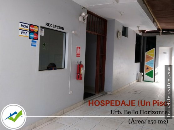 Hospedaje de 01 Piso, Urb Bello Horizonte - Piura