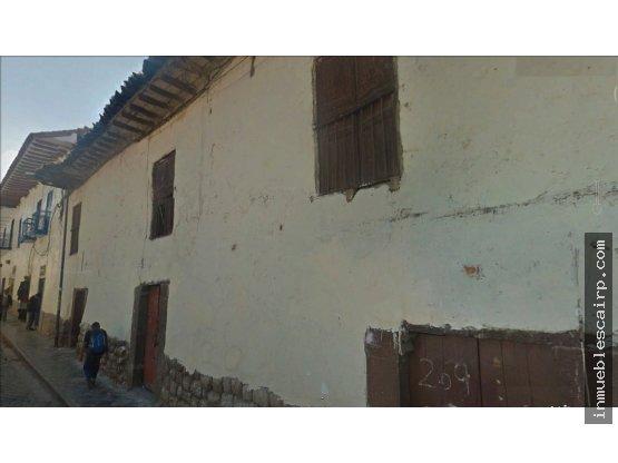 VENTA DE LOTE CENTRO HISTÓRICO CUSCO