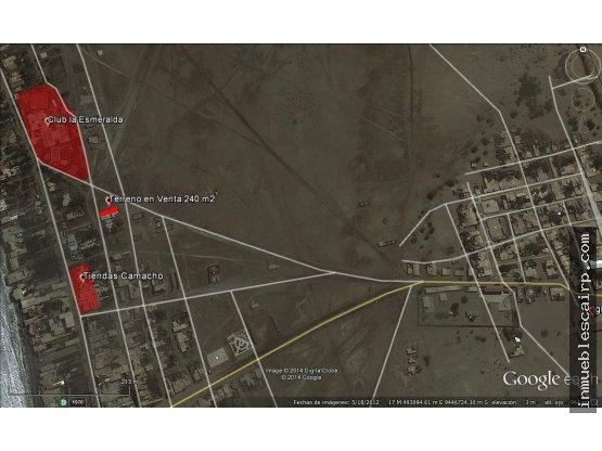 Vendo terreno posesión colan 240m2 a S/. 30,000