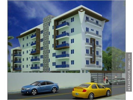 Apartamento Ensanche Ozama, Proyecto en Plano