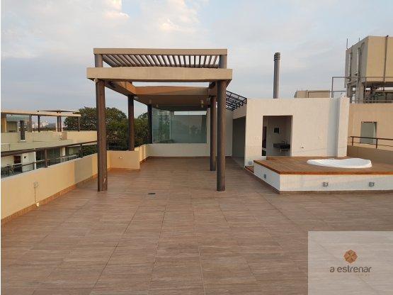 ALQUILO PENTHOUSE DE 3 DORM- Edificio Balkonia