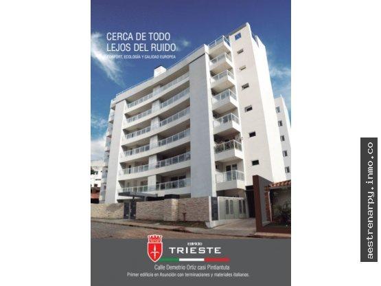 EN VENTA Y ALQUILER -Edificio Trieste - 2 Dorm.