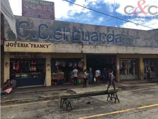 Centro Comercial en Venta, El Guarda zona 11
