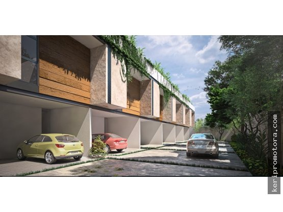VENTA DE TOWNHOUSES TEMOZON NORTE MERIDA