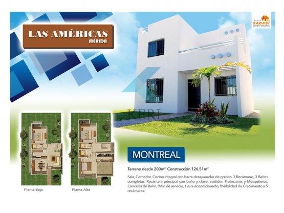 Venta Casa 2 pisos en Fracc. Las Américas Mérida