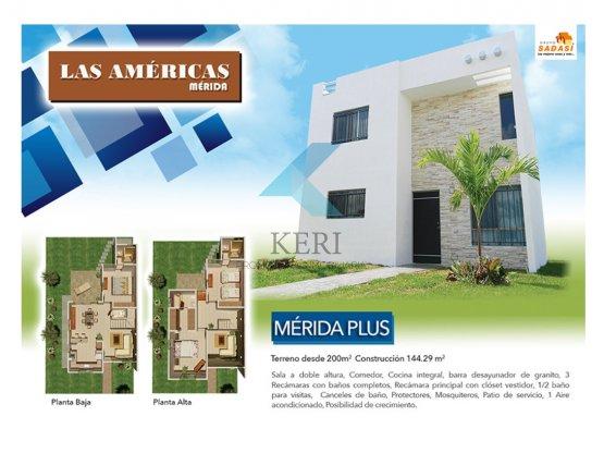 Venta casa 2 pisos Fracc. Las Américas Mérida