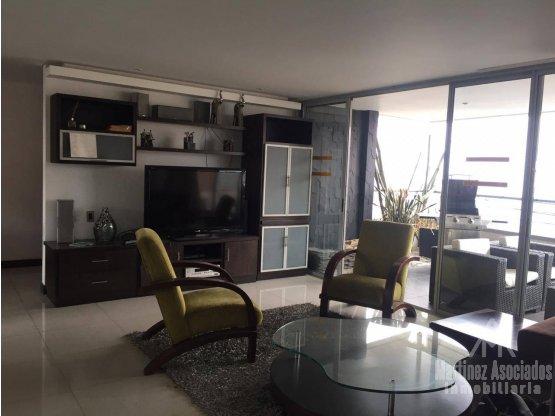 Apartamento Amoblado en arriendo Loma los González