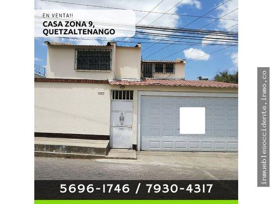 En Venta! Casa en la Floresta Quetzaltenango