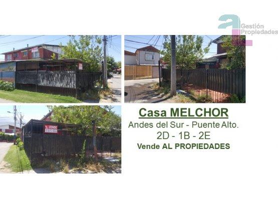Casa MELCHOR Andes del Sur