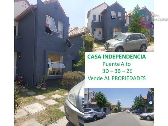 CASA INDEPENDENCIA Puente Alto