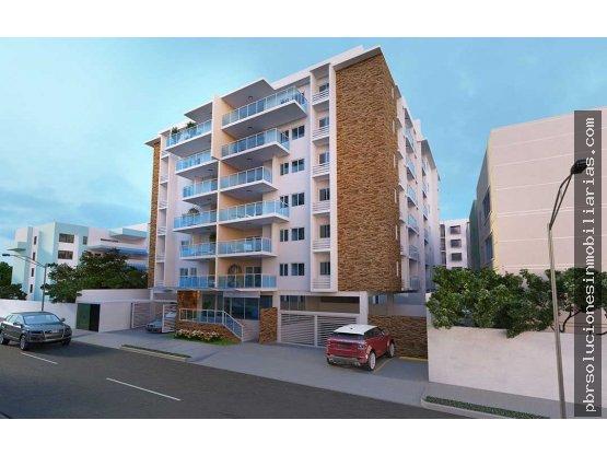 Proyecto de apartamentos en construcción en Gascue