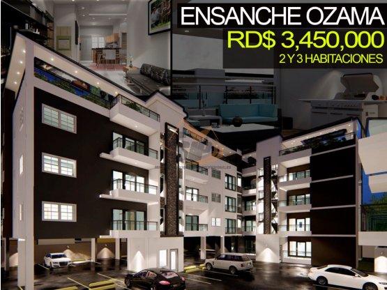 Apartamento en el ensanche Ozama