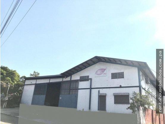 Amplia galera en alquiler en Curundu Panamá AZS