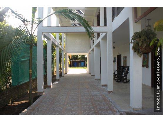 Finca Hotel en Venta, Quindio Ref. 4331