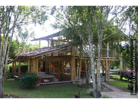 Finca Hotel en venta - Quindio 3196