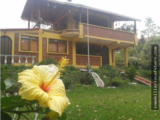 Casa Campestre en venta, Circasia, Quindio. 3166