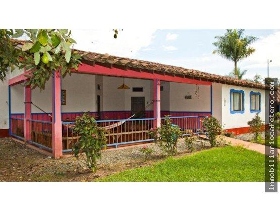 Finca Hotel en Venta, Quindio Ref. 4405