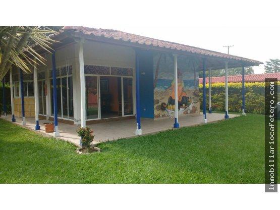 Casa Campestre en Barragan, Quindio. 3363