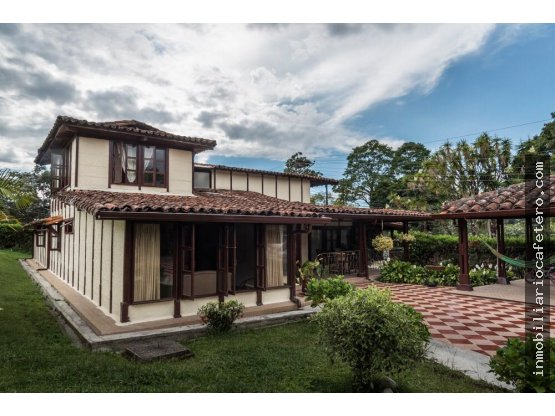 Casa Campestre en Circasia, Quindio. 3367
