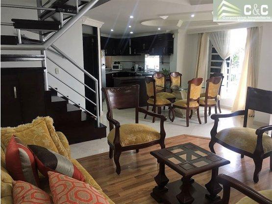 Casa amoblada en renta norte de Armenia 9210