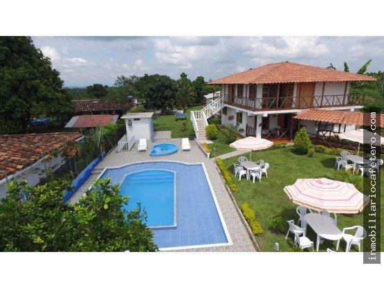 Finca Hotel en Venta, Quindio Ref. 4441