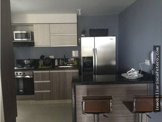 Apartamento en Renta, Armenia. Ref. 9127