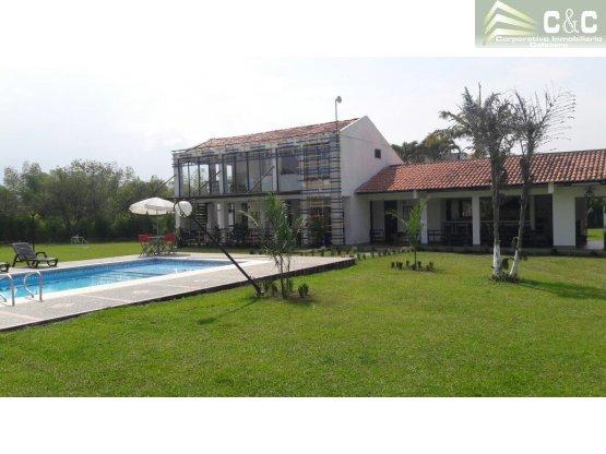 Casa campestre en venta o renta, Pueblo Tapao 3464