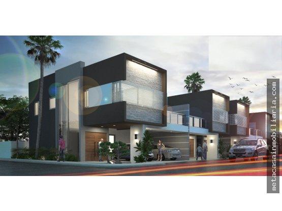 Exclusivo Proyecto de Casas con patio y terrazas