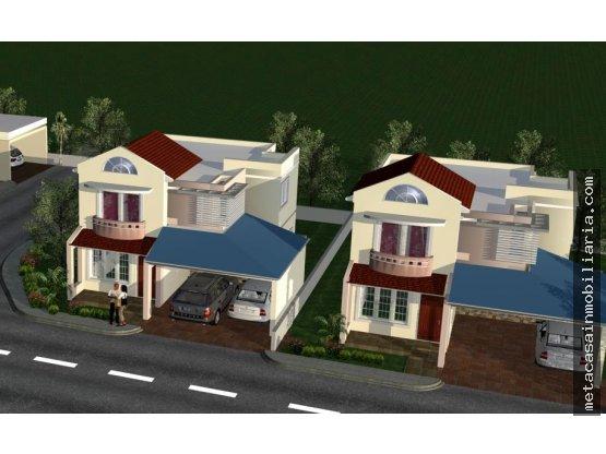 Casas de 2 niveles en Amalia San Isidro