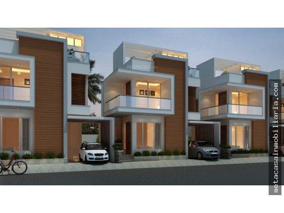 Casas en San Isidro en Res. Cerrado $3.650